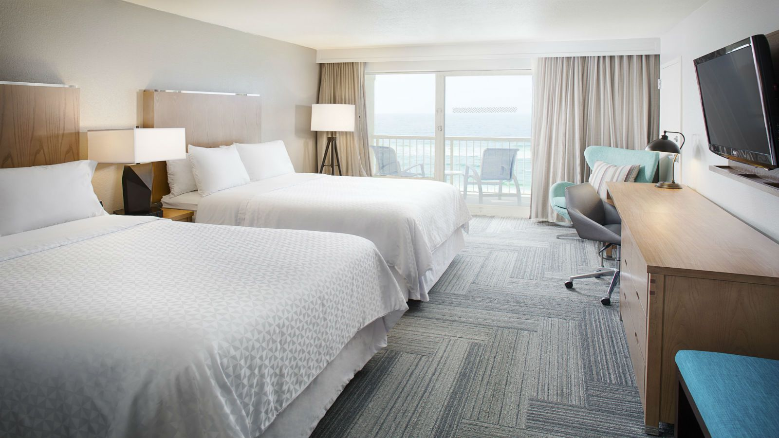Fort Walton Beach Accommodations - Deluxe Beachfront Room